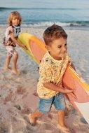 COCCODRILLO Surf the sun marškinėliai yellow, WC1143203SUS WC1143203SUS-004-110