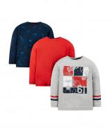 MOTHERCARE marškinėliai ilg.r. 3vnt. TB423 337851