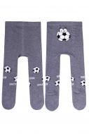 STEVEN Pėdkelnės berniukui football grey 071-106 68-74 071-106