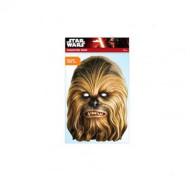 RUBIES STAR WARS kaukė ChewBacca Card, 32847 32847