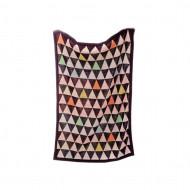 BIZZI GROWIN pledas 70x90cm Triangles BG015 BG015