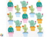 Servetėlės Cactus 33x33 cm 20 vnt, 89293 89293