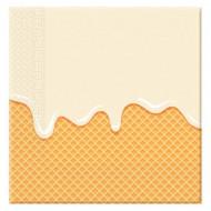 Servetėlės Ice Cream 33x33 cm 20 vnt, 89403 89403