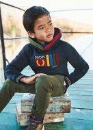 MAYORAL džemperis su gobtuvu 5B, denim, 4403 4403