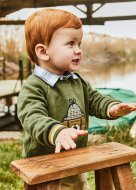 MAYORAL džemperis 3B, hunt/green, 2410 2410