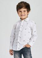MAYORAL marškiniai ilgomis rankovėmis 5D, balti, 4167 4167