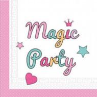 Servetėlės Magic Party 33x33 cm 20 vnt, 89289 89289