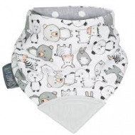 CHEEKY CHOMPERS kaklaskarė su pritvirtintu kramtuku Panda Pals 054 CC054