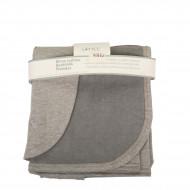 LITTLE pledas Sweat & Flausch Grey Melange 75x100cm 180000033