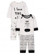 MOTHERCARE pižama Zebra 2vnt. QB269 279447