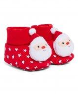 MOTHERCARE Kalėdiniai tekstiliniai batukai Festive nuo gimimo 517332 517332